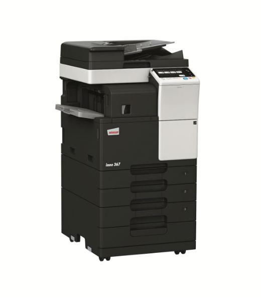 辦公室影印機-黑白多功能事務機 ineo 367 -康鈦科技