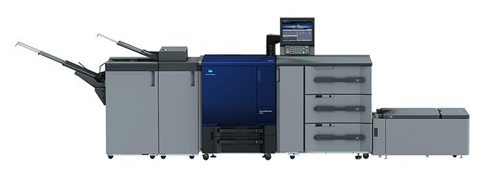 km news 02 TIGAX 展出AccurioPress C83hc RGB色域輸出設備