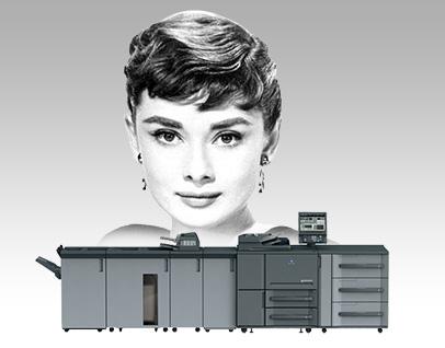 黑白量產輸出設備-少量.多樣 客製新選擇
