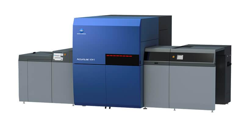 康鈦科技最新消息TIGAX 20 展出 B2寬幅單張式UV噴墨印刷機 KM-1